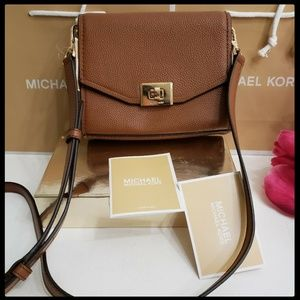Michael Kors Cassie XS Leather  Crossbody Bag NWT